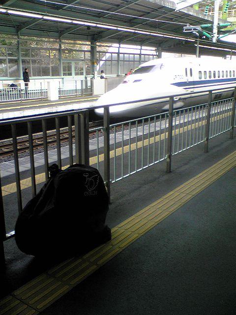 新幹線輪行ポタリングの旅